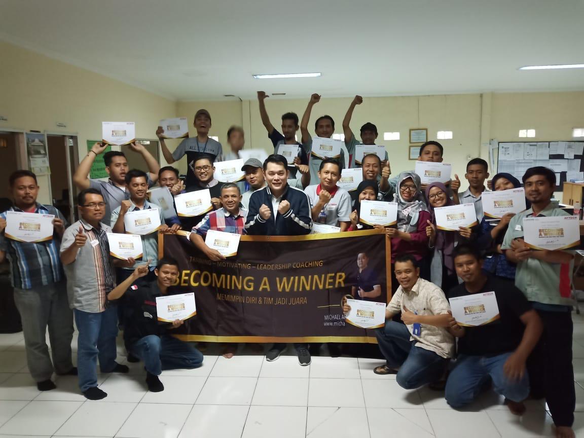 Becoming a Winner ( Memimpin Diri Dan Team Jadi Juara )
