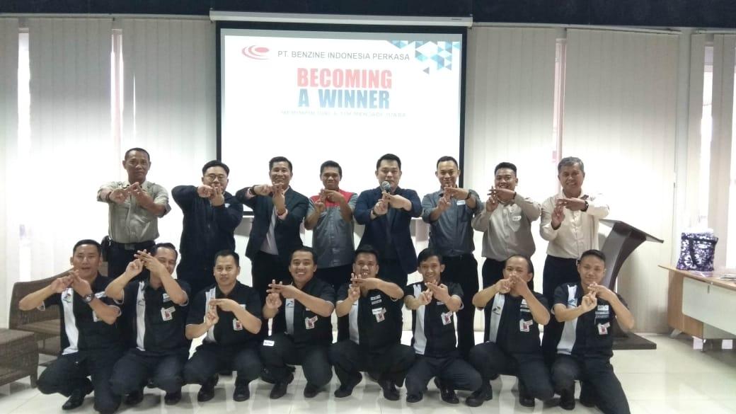 Becoming a Winner. Memimpin Diri dan Team jadi Juara, PT Benzine Indonesia Perkasa