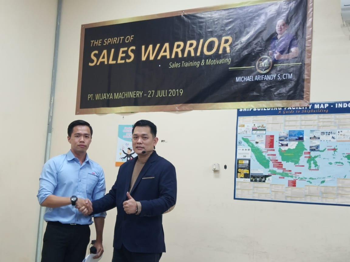 The Spirit of Sales Warrior Training